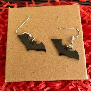 🎃 4 for $20 🆕 Black Bat Earrings